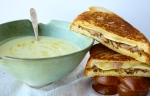 Grilled Cheese & Soup